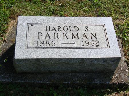 harold sain parkman tombstone 1886 1962.jpg